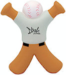 Baseball Bat Man Stress Balls